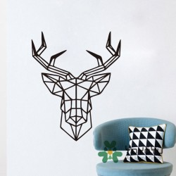 Head-Of-Deer-font-b-Geometric-b-font-font-b-Wall-b-font-font-b-Sticker